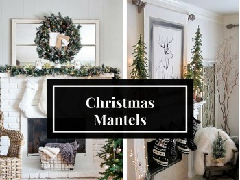 Christmas Mantel Inspo