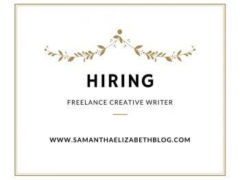 Hiring: Freelance Creative Writer
