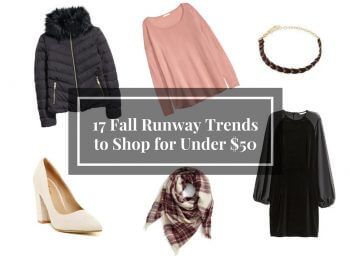 17 Fall Runway Trends to Shop Under $50