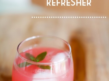 Watermelon Cucumber Refresher
