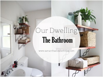 Our Dwelling: Bathroom Home Tour