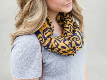 Summer Scarf Wearing With Che Bello Boutique & a Giveaway