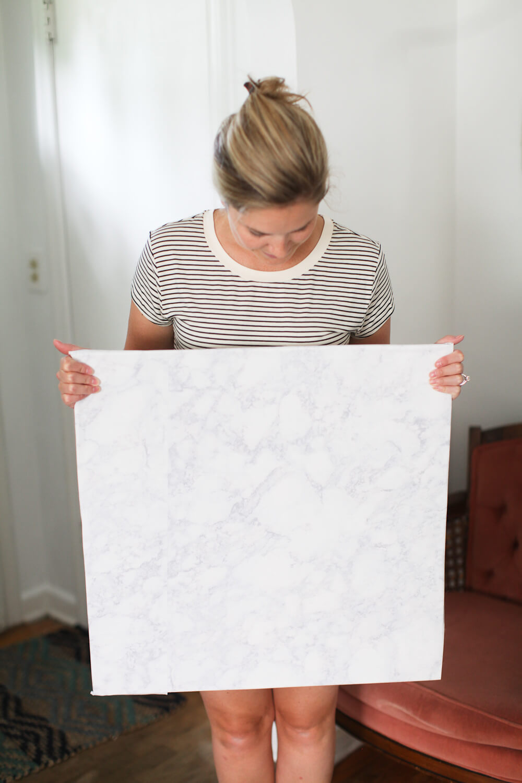 Make Your Own Faux Marble Backdrop Samantha Elizabeth