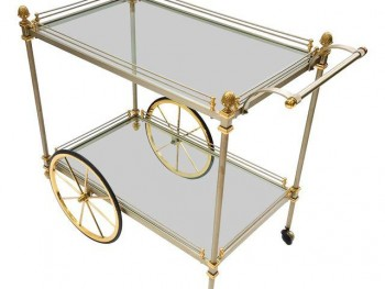 Styling a Bar Cart: 10 of My Favorite Items