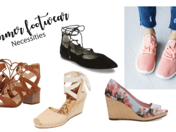 Summer Footwear Necessities